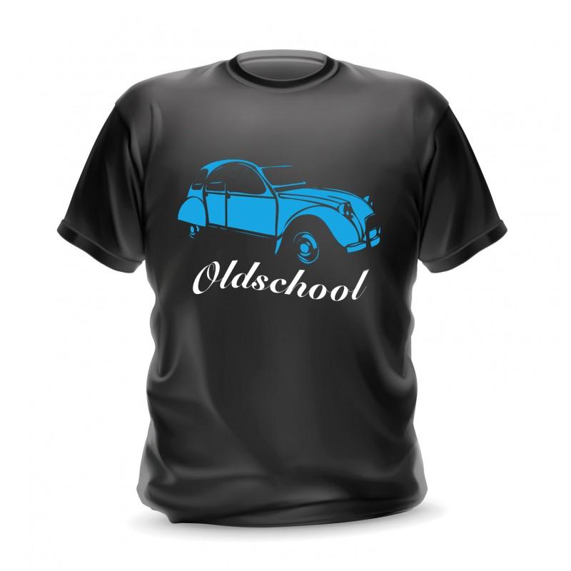 t-shirt cotroen personnalisable 2cv