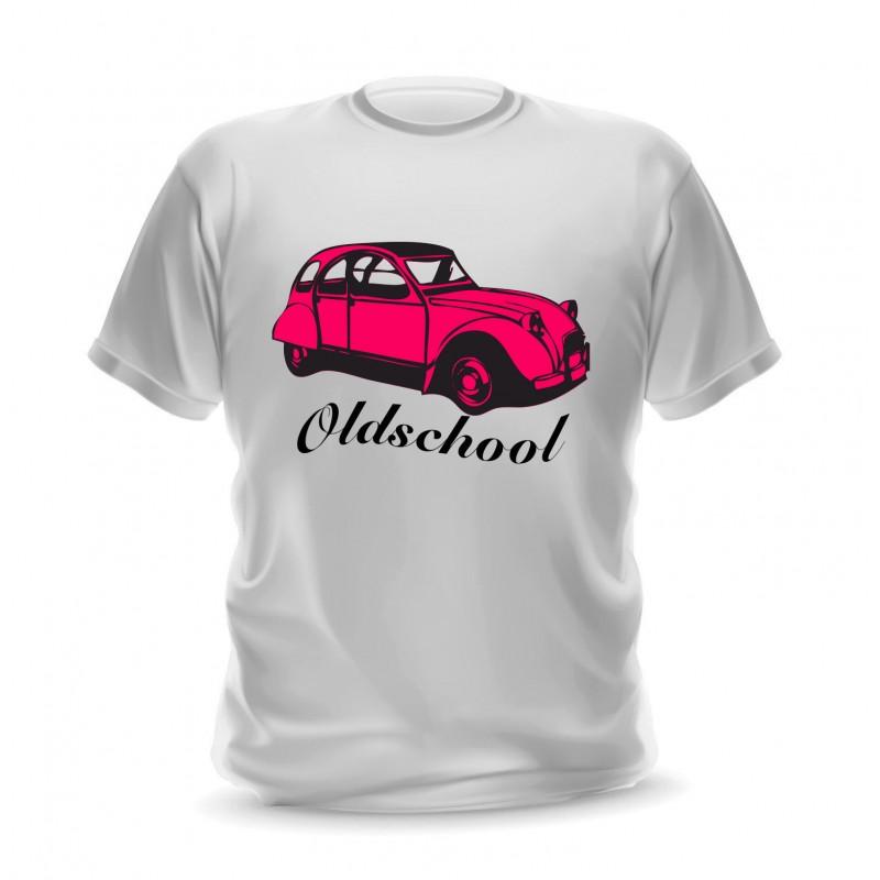 t-shirt pour homme personnalisable 2cv