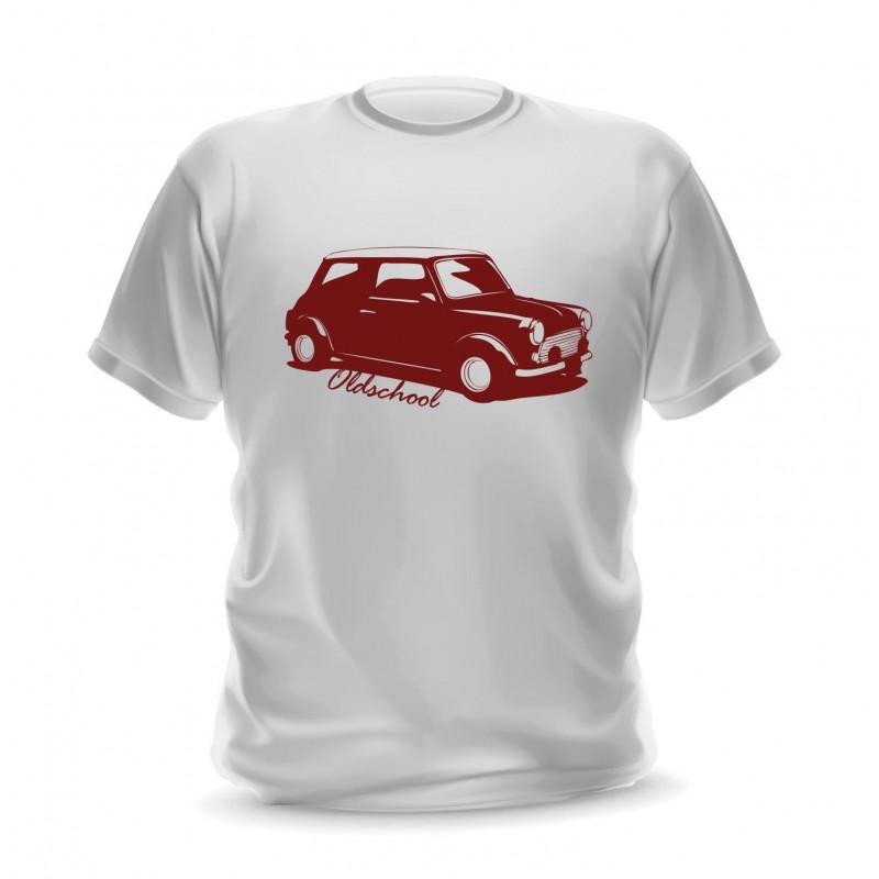 T-shirt voiture mini pour homme