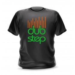 t-shirt homme noir dub step