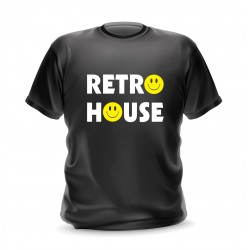 t-shirt retro house
