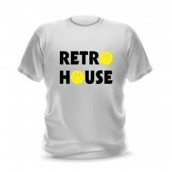 Tee shirt retro house music