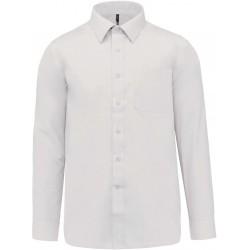 Chemise blanche manches longues pour homme