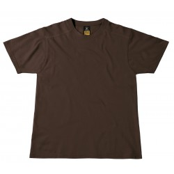 T-shirt marron perfect pro pour homme