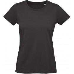 T-shirt bio femme Inspire Plus noir