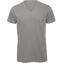t-shirt col v pour homme