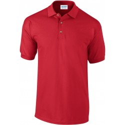 Polo manches courtes Ultra cotton rouge pour homme