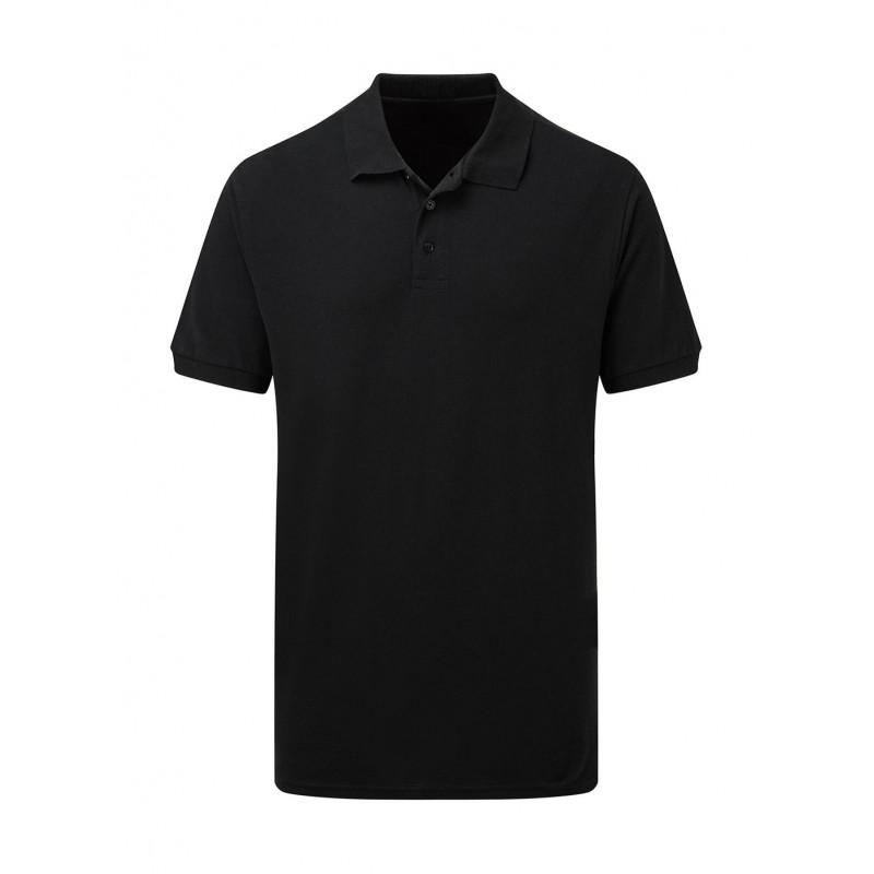 Men's Cotton Polo noir