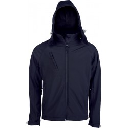 veste softshell navy pour homme