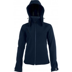 veste softshell navy pour femme