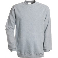 sweat gris col rond