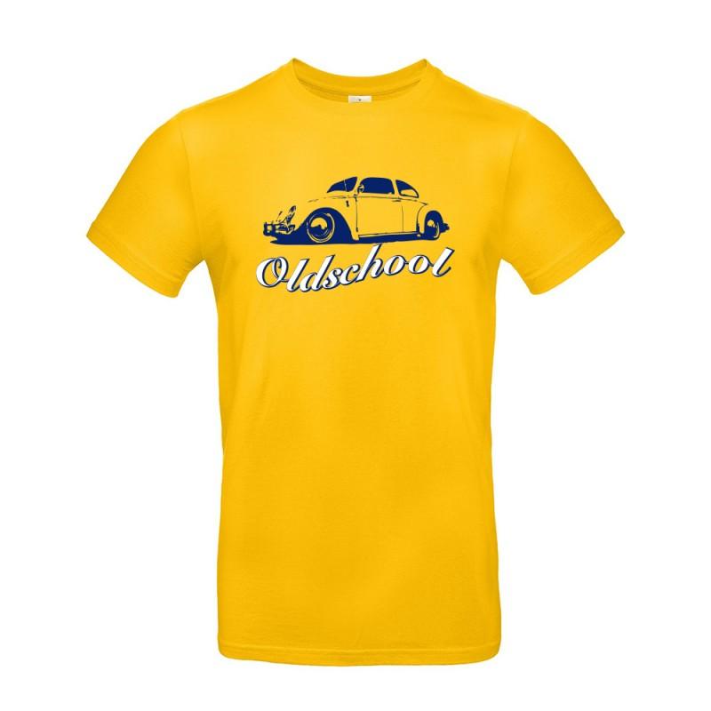 T-shirt homme Volkswagen Coccinelle jaune