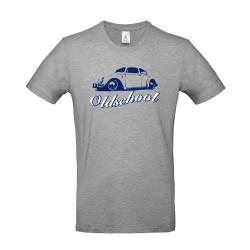T-shirt homme Volkswagen Coccinelle gris chiné