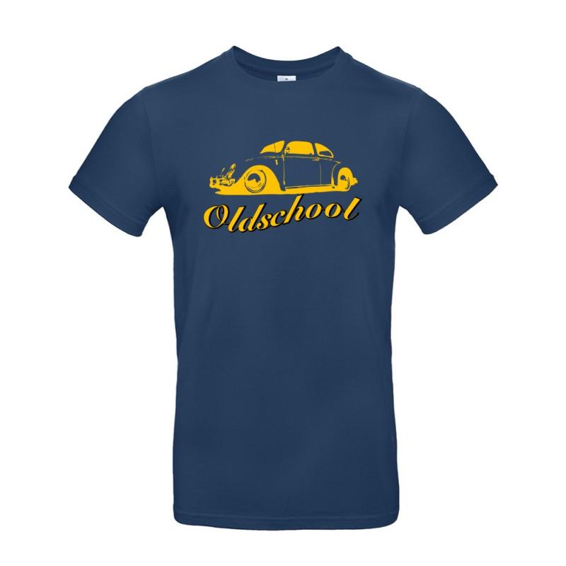 T-shirt homme Volkswagen Coccinelle navy