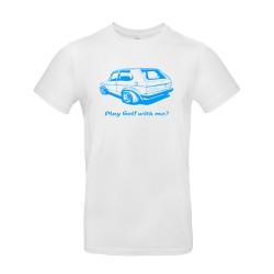 T-shirt homme Golf 1 Volkswagen blanc