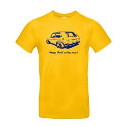 T-shirt homme Golf 1 Volkswagen jaune
