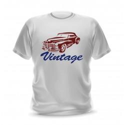 T-shirt vintage auto pour homme
