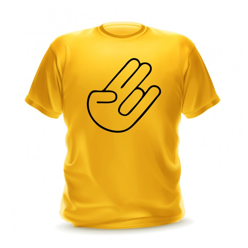 T-shirt Shocker hand